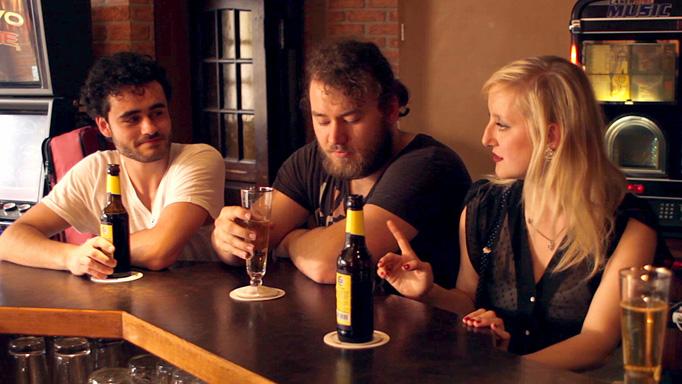 Ein Bier und zwei Kurze mit Katie Pollock