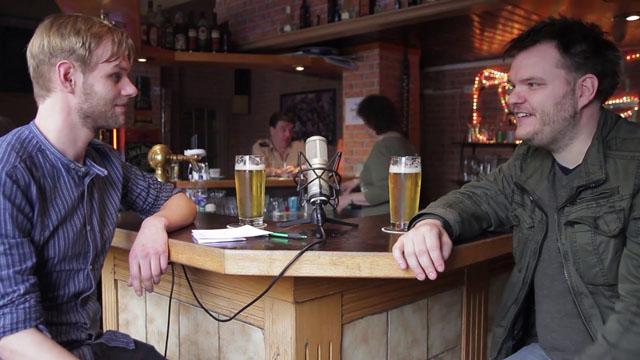 Ein Bier und zwei Kurze mit Svavar Knútur